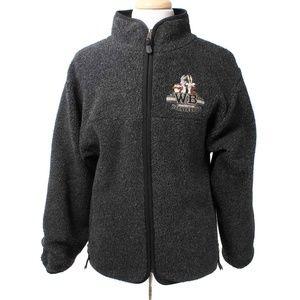 Warner Bros Looney Toons Gray Fleece Zip Jacket